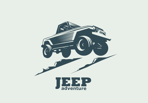 Jumping Jeep by Ozantliuky