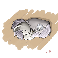 Scootasleep by bobbilcon