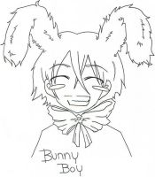Bunny boy by Leerer-Raum