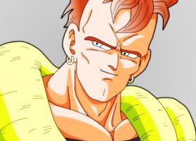 Android 16 Closeup_FINISHED by carapau
