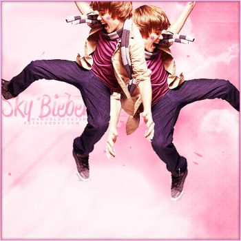 + Bieber sky. by downtoheart