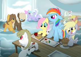 The Cool Table by bibliodragon