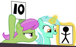 Lyra the Judge by CultLeaderFluttershy