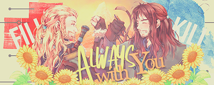 Always With You - Fili and Kili. by CharmingFeeling