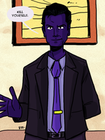 Purple Man by theEyZmaster