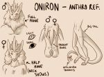 Oniron - Anthro References by Karijn-s-Basement