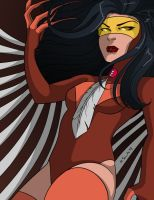 Owl Woman by msciuto