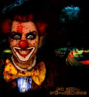 Mad Horror Clown by PsdDude