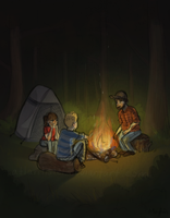 Campfire by Atlantistel