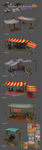 Market Stalls - Preview by StormAndy