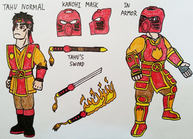 Tahu Human Design by StealthNinja5