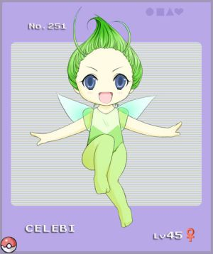 Image internet Pokemon_Celebi_by_NekoBaka