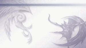 Dissidia Wallpaper by PhysXPSP