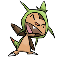 Chespin by JoJoDee