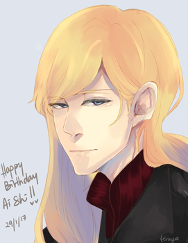 HAPPY BIRTHDAY AISHIIIIII by ritterzaki-T