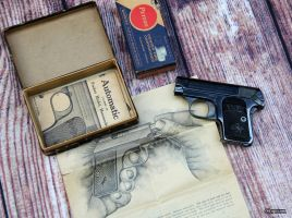 Colt Vest Pocket Hammerless 1908 - Circa 1910 by spaxspore