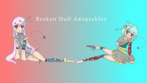 Broken Doll Adoptable Auction by Montemarte