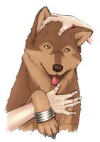 Wolf's Rain: The one that loved humans by Jenova87
