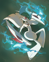 Mega Gallade by PinkGermy