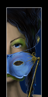 a Masked lady for xgnyc by whispersss