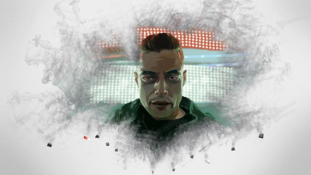 Speed Painting 49: Mr Robot by juliancelaj