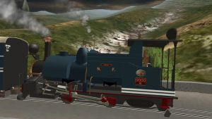 Abdul the Indian Train in Trainz by CaptainKman