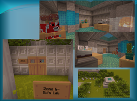 Spi's Lab- Minecraft by MooTheHedgedog