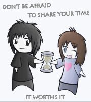 Collab - Share your time by DragoN-FX