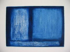 Blue by Lilzipo by printmakers