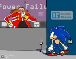.:Sonic and Eggman:. by silverine17