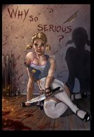 Why So Serious Girl? by VinRoc