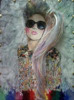 Rainbow Ponytail Gaga by LemilyGaga