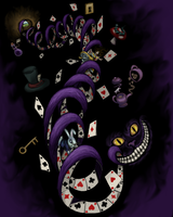 Alice in Wonderland Cover by Wooded-Wolf