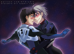 Evangelion - Shinji and Kaworu by AT-Studio