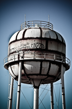 Water Tower by MarilynTaylor