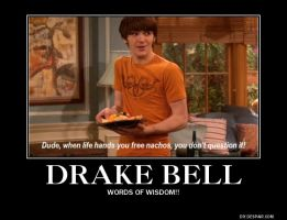 Wise Words From Drake Bell by AlphaMoxley95