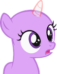 MLP Base: Shocked filly by Starlollipop