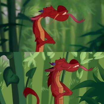 My first redraw (Mushu) by FINCHina