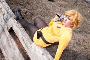 'Set Your Phasers to Stun' Star Trek Kirk Cosplay by OxfordCommaCosplay