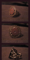 Steampunk Ring by Inai-Bara