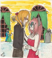 """""""May I have this dance Gwen?"""" by Miss-Mori02"""