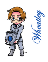 Chibi WHEATLEY by AnimeFan2006