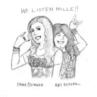 We listen Mille by zombiepencil