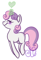Sweetie Belle by CandyBattleaxe