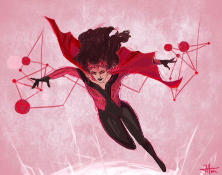 Scarlet Witch by thewipeout
