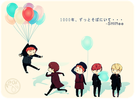 SHINee 01 by peariw