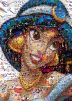 Princess Jasmine Mosaic by Cornejo-Sanchez