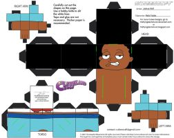 FG6: Rallo Tubbs Cubee by TheFlyingDachshund