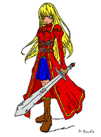swords women colored by stormgx
