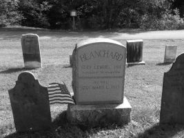 Old Cemetery Touched Up B/W 19 by TheGreatWiseAss